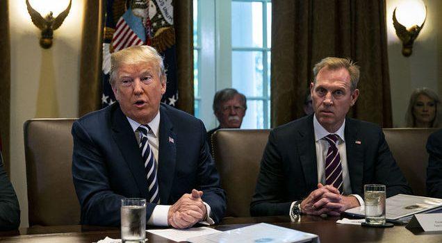 Трамп назначил исполняющего обязанности главы Пентагона