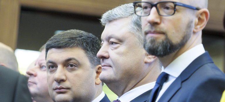 Гройсман, Кличко и Яценюк не пойдут на выборы — Сюмар