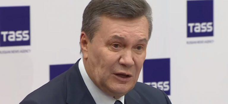 Завтра Януковичу огласят приговор по делу о госизмене