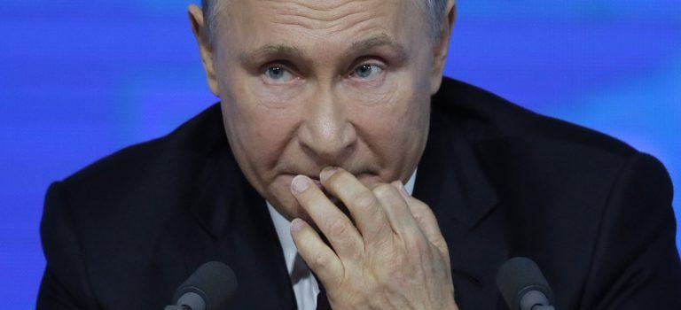 В РФ фиксируют самый низкий уровень доверия к Путину за 13 лет