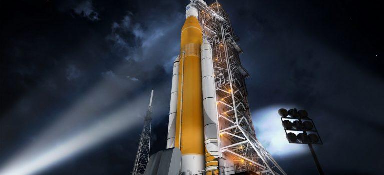 Готовится к тесту крупнейшая часть сверхтяжелой ракеты NASA: фото