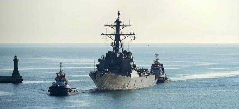 В РФ придумали, что делать с зашедшим в Черное море эсминцем США