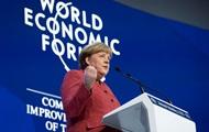 Меркель пошла против Трампа в Давосе — СМИ