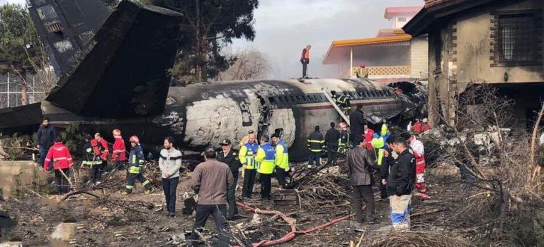 Авиакатастрофа в Иране: появилась информация о выживших