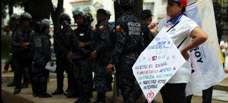 В Венесуэле задержали семерых иностранных журналистов