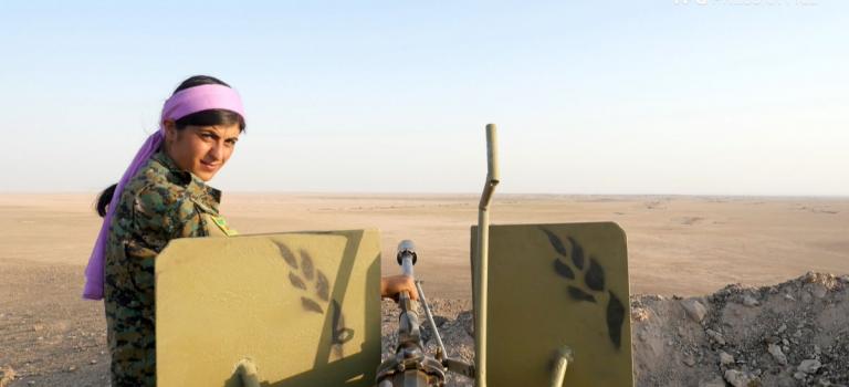 Сестры по оружию. Истории курдских женщин — бойцов