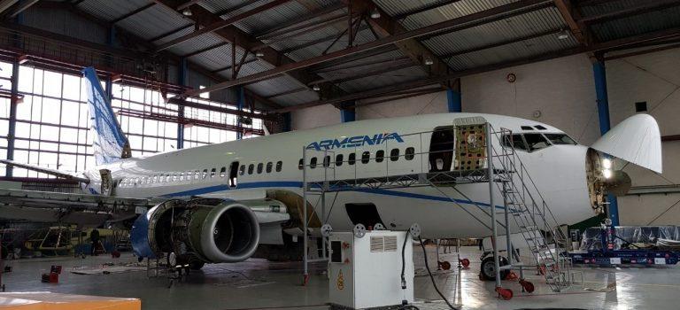 Украинский завод начал техническое обслуживание самолетов Boeing