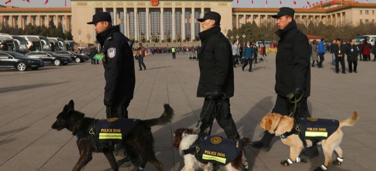 В Китае мужчина с ножом напал на толпу, ранены 11 человек