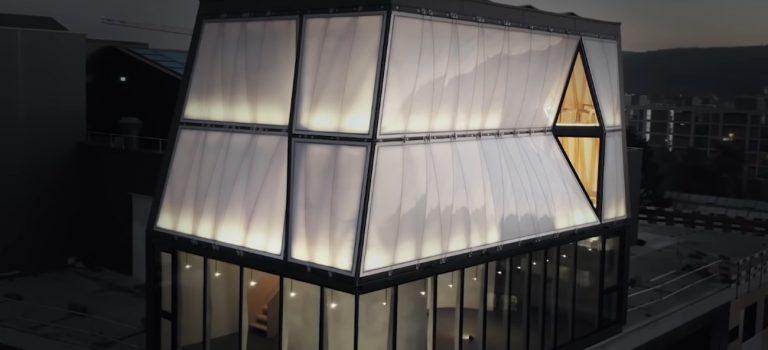 В Цюрихе открыли дом, построенный роботами: видео