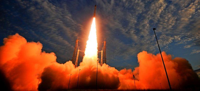 Ракета с двигателем из Днепра выводит спутник PRISMA: трансляция