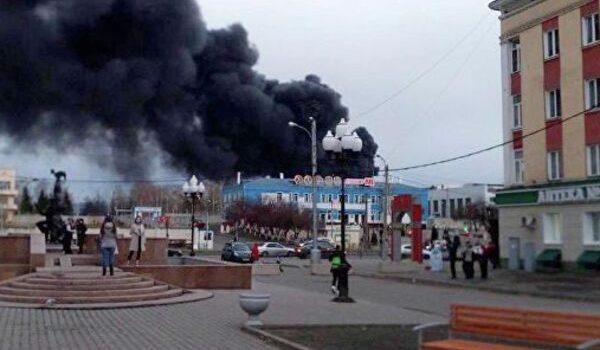 В России вспыхнул известный ракетный завод: первые видео с места ЧП