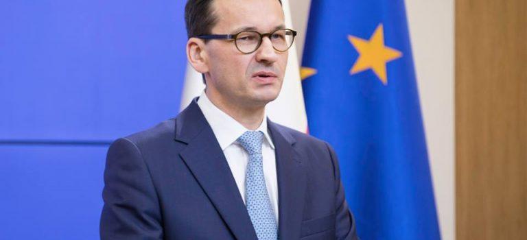 Премьер Польши: Покупая газ у Путина, вы платите за его оружие