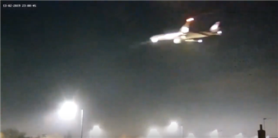 Российские военные принудительно посадили иностранный самолет