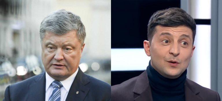 41% голосов Зеленского — не за него, а против Порошенко: опрос