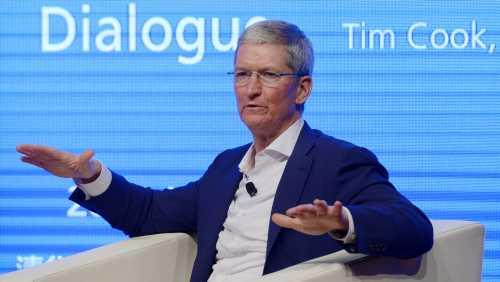 Тим Кук выступил за госрегулирование рынка технологий