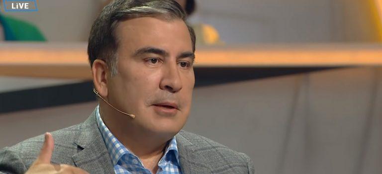 Саакашвили случайно встретился с Порошенко: Думали, я его покусаю