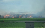 На птицефабрике в Швеции сгорели около 100 тысяч кур