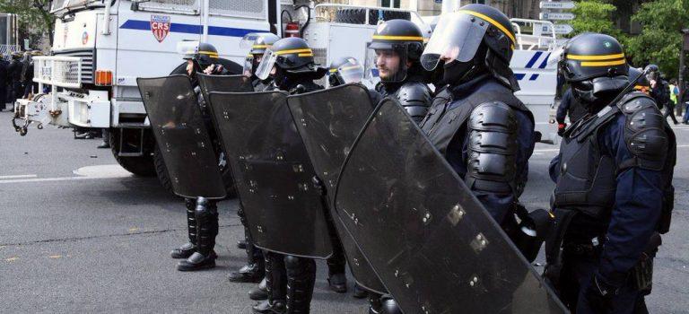 Первомайские демонстрации в Париже: ранены 38 человек