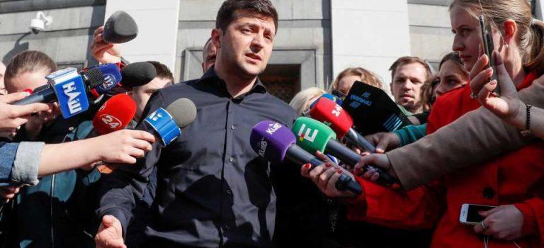 В команде Зеленского отрицают причастность к митингу под Радой в поддержку инаугурации