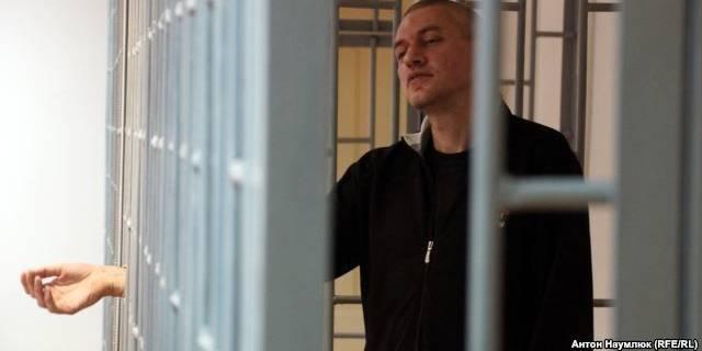 Украинский политзаключенный Клых объявил голодовку
